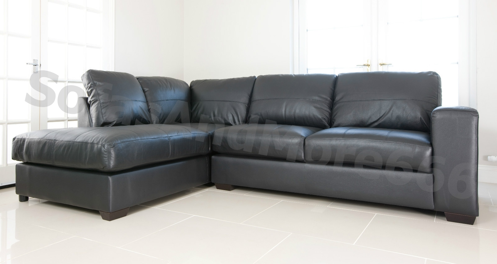 Cheap leather sofas argos cheap black leather corner sofa for Black leather sectional sofa uk