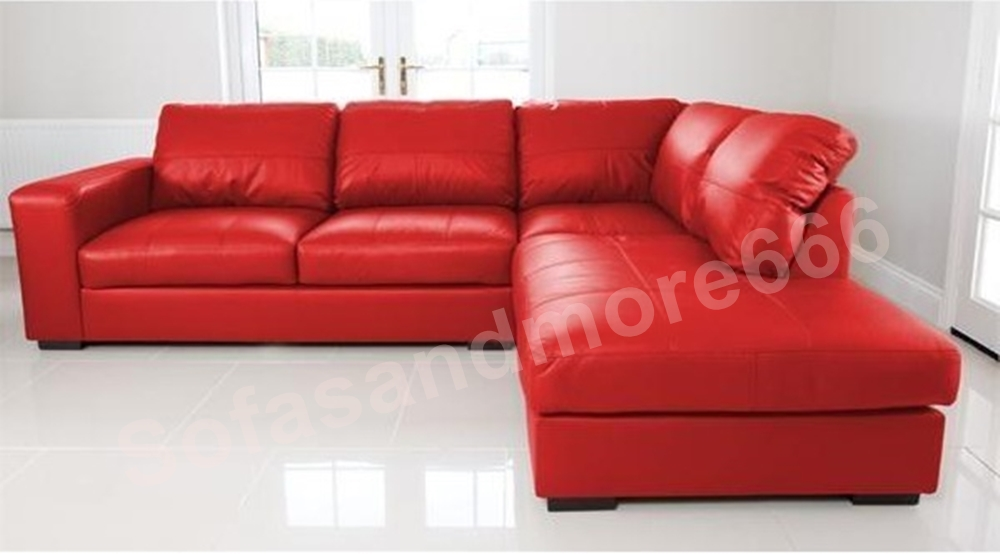 red leather corner sofa m wall decal